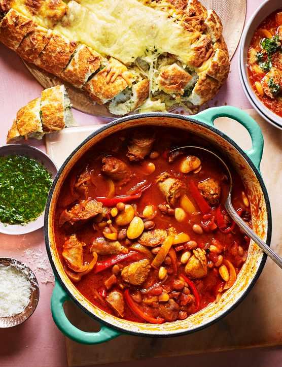 Sausage Casserole Recipe with Gremolata