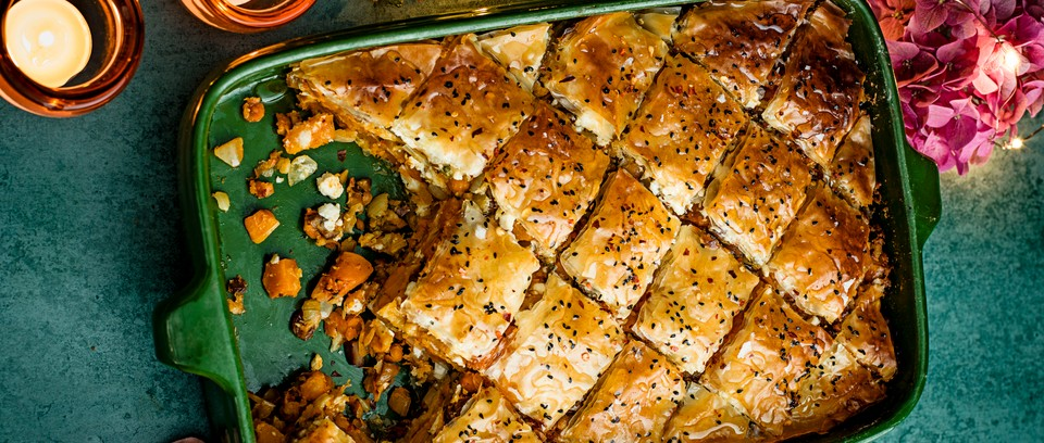 Vegetarian Christmas Main For Savoury Baklava Olivemagazine