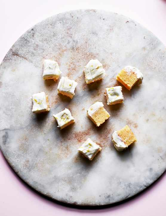 Gin and Tonic Traybake Squares Recipe