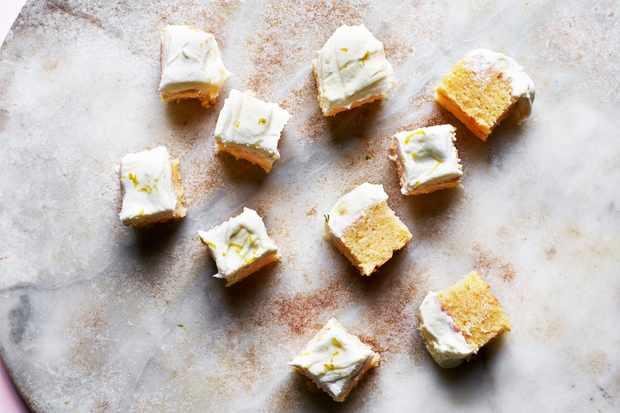 Gin and Tonic Traybake Squares Recipe