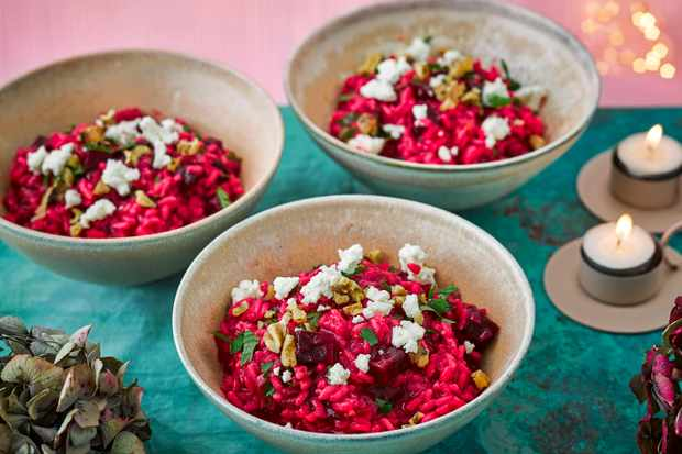 Beetroot Risotto Recipe