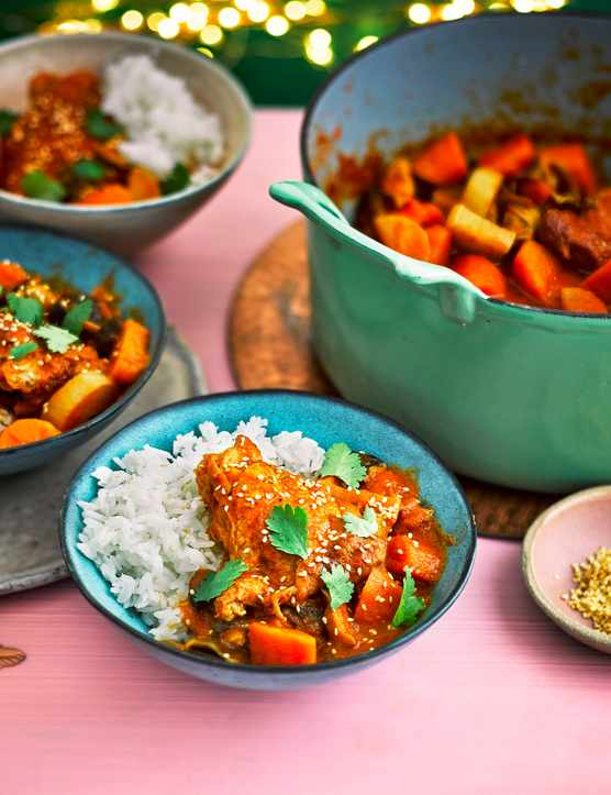 Korean Chicken Stew Recipe with Gochujang
