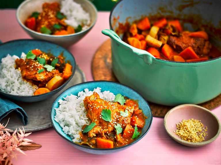 Korean-style chicken stew