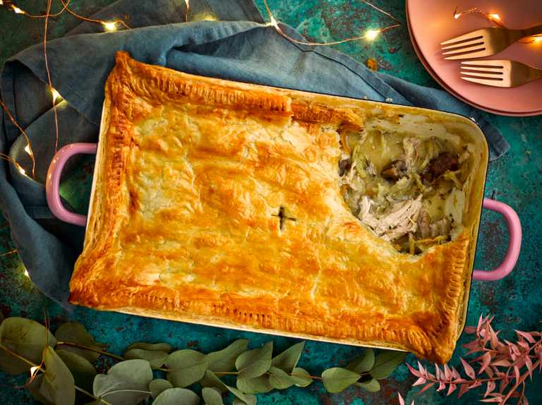 Leftover Roast Chicken Pie Recipe Olivemagazine