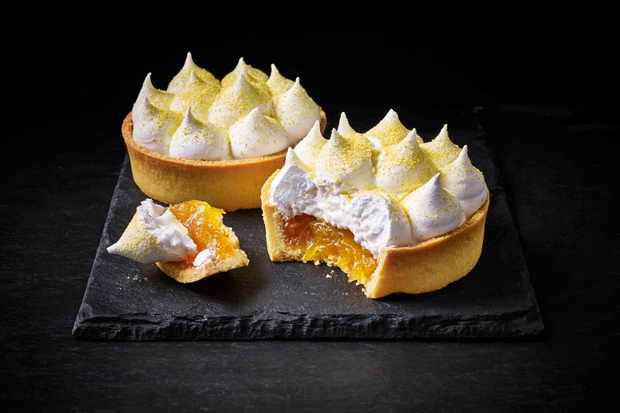 Passion Fruit Orange Meringue Rhokett Dessert
