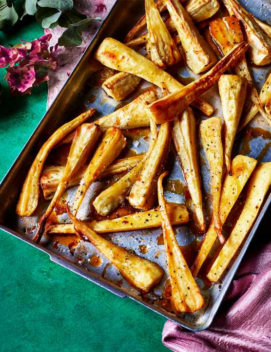 Maple Glazed Parsnips Recipe with Whisky