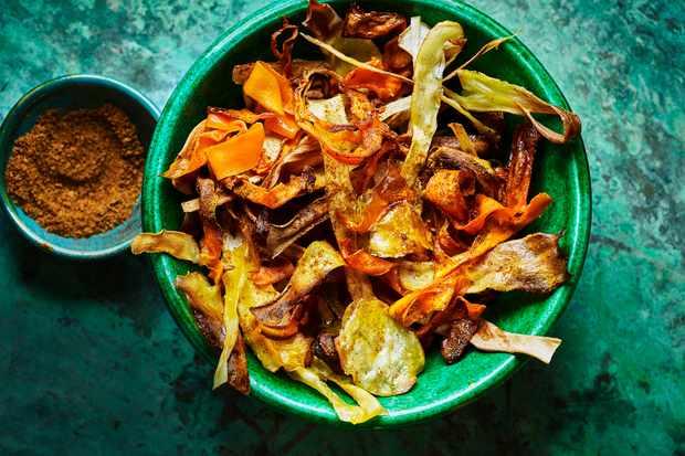 Homemade Vegetable Crisps Recipe