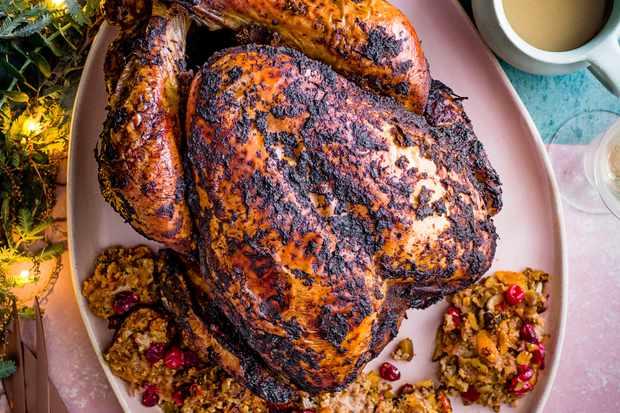 Jerk Turkey Recipe with Stuffing and Gravy