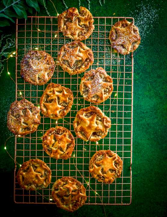 Crumble Topped Mince Pies Recipe with Whisky