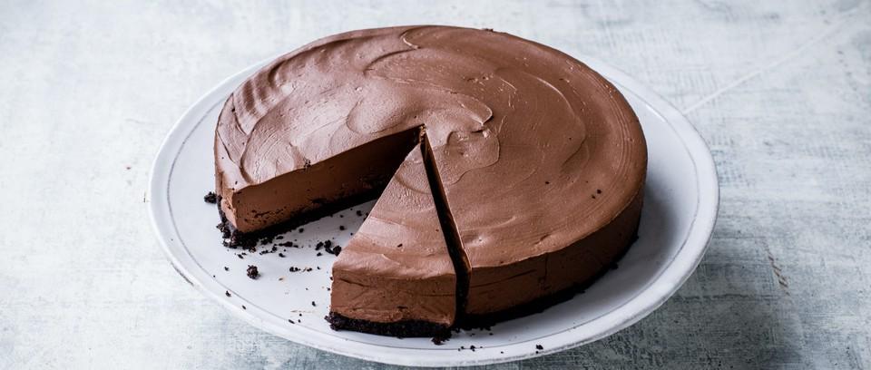 Vegan Chocolate Cheesecake Recipe Olivemagazine