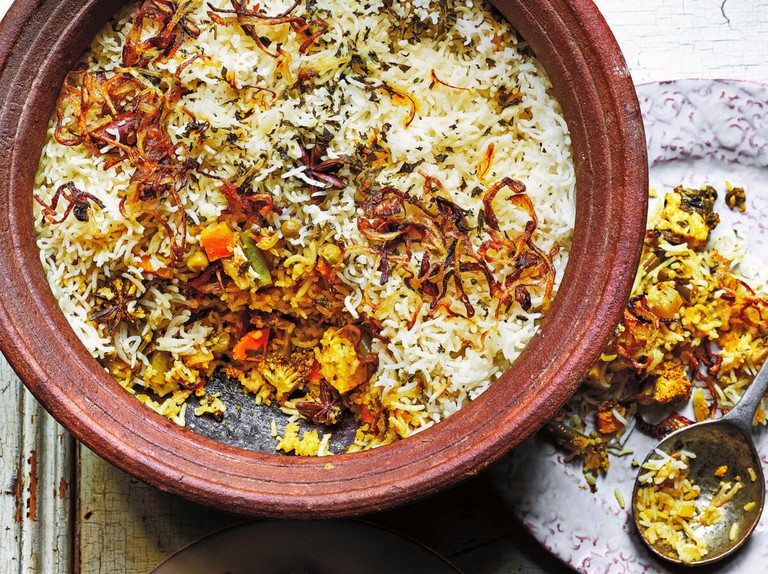 Dum Biryani Recipe With Paneer Olivemagazine