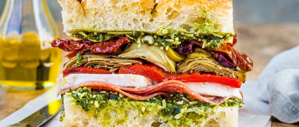 Deli Sandwich Recipe Olivemagazine