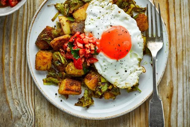 Poireau au curry et pommes de terre