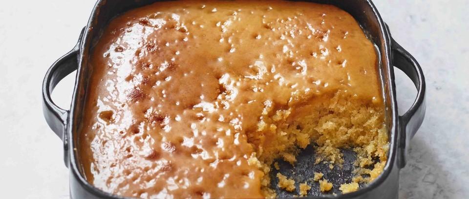 Easy Treacle Sponge Pudding Recipe Olivemagazine