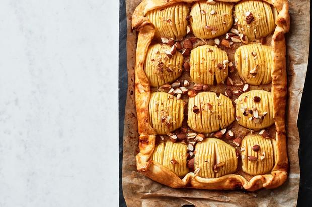 """Tarte aux pommes, aux amandes et au sirop """"title ="""" olive_Tart_previewTarte aux pommes, aux amandes et au sirop """"/>   <div class="""