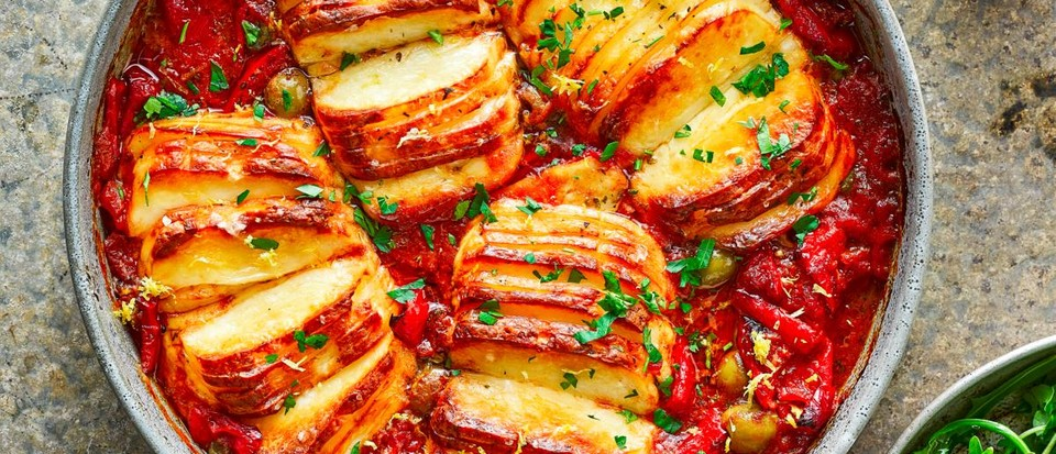 Easy vegetable traybake recipes