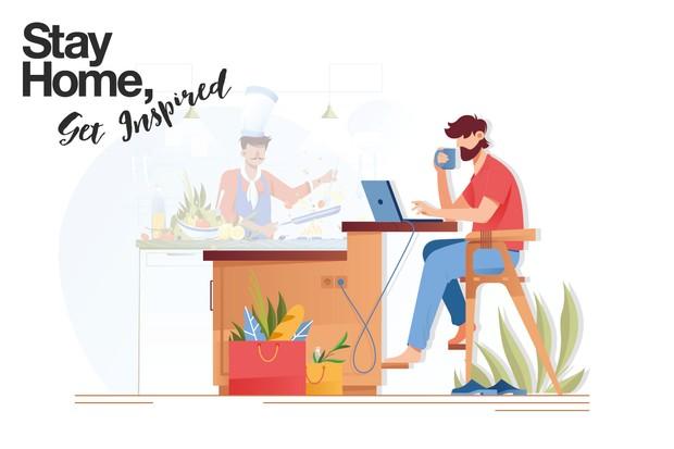 """Restez à la maison, cuisinez """"title ="""" Restez à la maison, cuisinez """"/>   <p> Alors que nous nous adaptons tous à de nouvelles façons de travailler et de vivre, olive Magazine et la famille de marques Immediate Media, y compris Radio Times, Gardeners 'World et BBC Good Food, se sont associés pour vous fournir une dose quotidienne de conseils d'experts et d'excellentes idées pour obtenir </p> <hr> <p><b> Inscrivez-vous à notre newsletter pour une dose quotidienne d'inspiration de nos experts </b></p> <div class="""