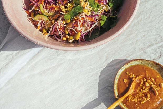Thai ginger salad