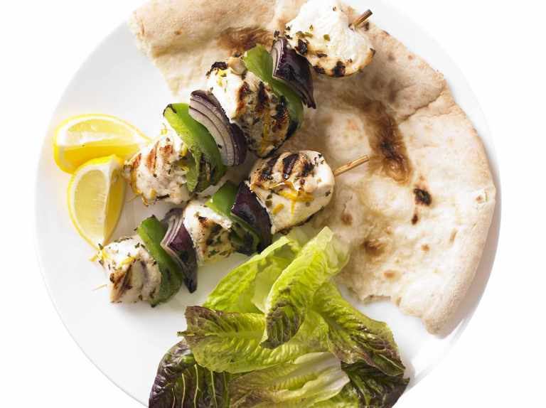 Chicken Souvlaki Recipe Olivemagazine
