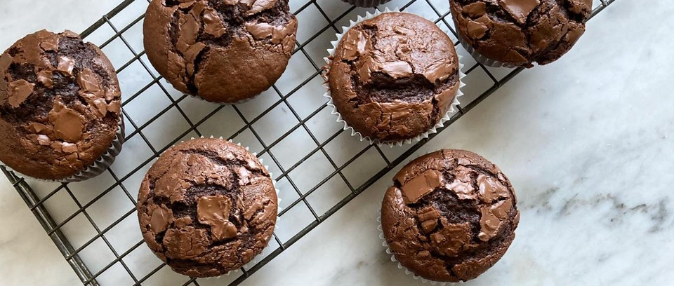 Easy Chocolate Muffins Recipe Olivemagazine