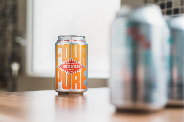 A can of FourPure Citrus Session IPA