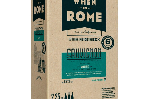 À Rome Sauvignon Blanc (25,99 £ / 2,25 litres, flavourly.com)