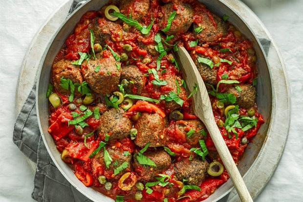 Boulettes de viande végétariennes