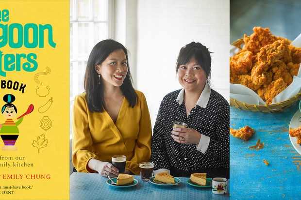Rangoon Sisters et leur livre de cuisine jaune