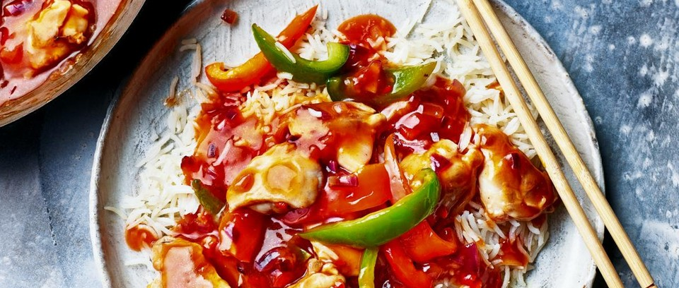 Slow Cooker Sweet And Sour Chicken Recipe Olivemagazine