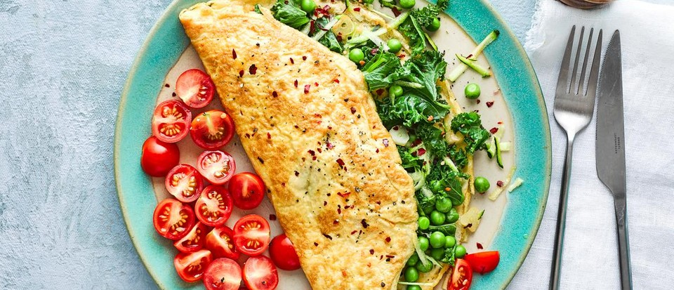 6 omelettes for a keto breakfast