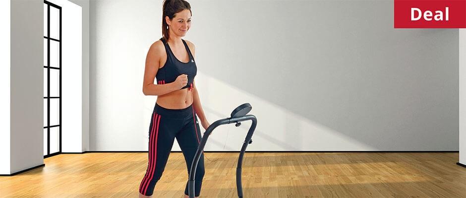Get money off a BodyFit folding electric treadmill