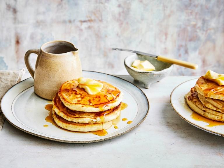 Easy American Pancakes Recipe Olivemagazine