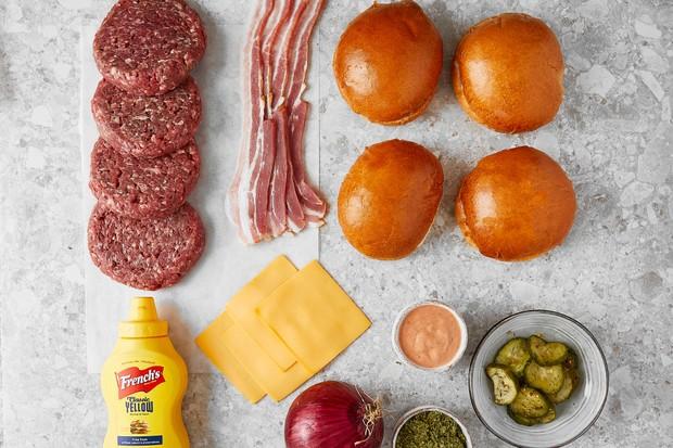 Honest Burger meal kit