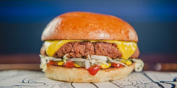 Libertine vegan burger