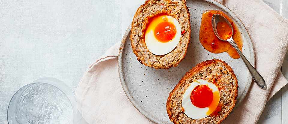 Thai scotch eggs