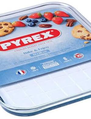 Pyrex Classic Bake & Enjoy Tray, Bundle of 2