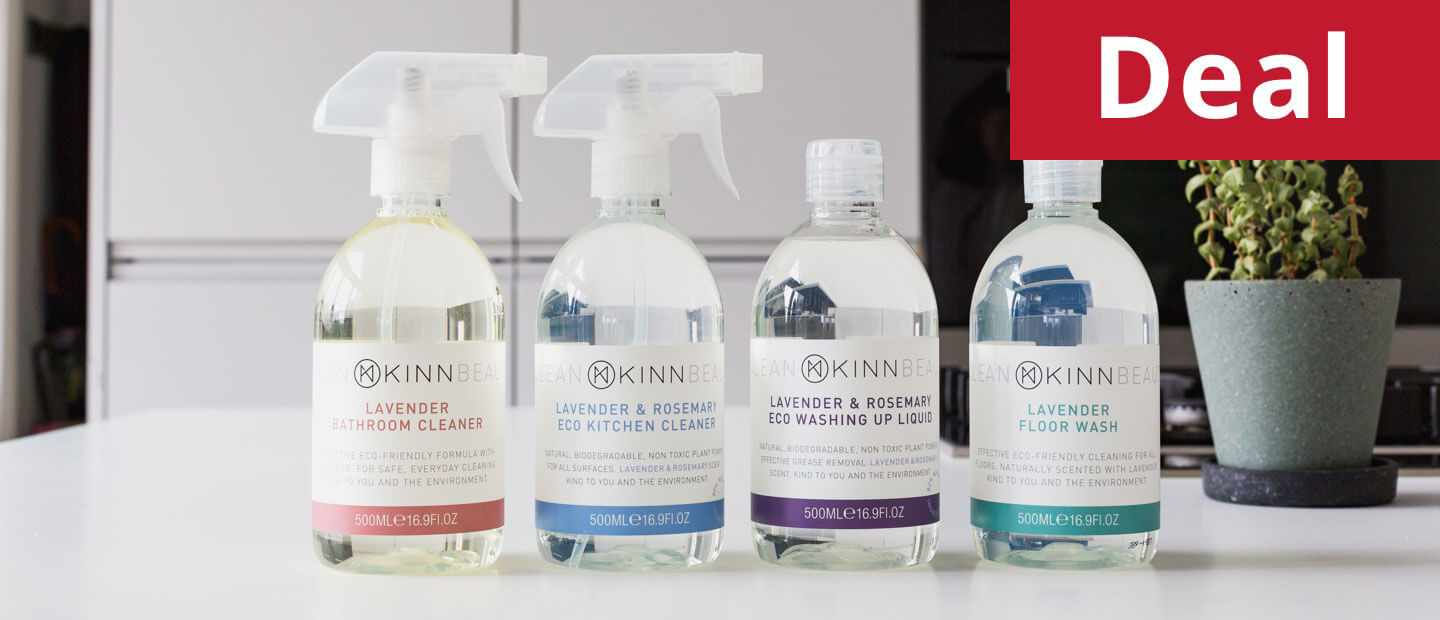 KINN Living vegan cleaning bundle