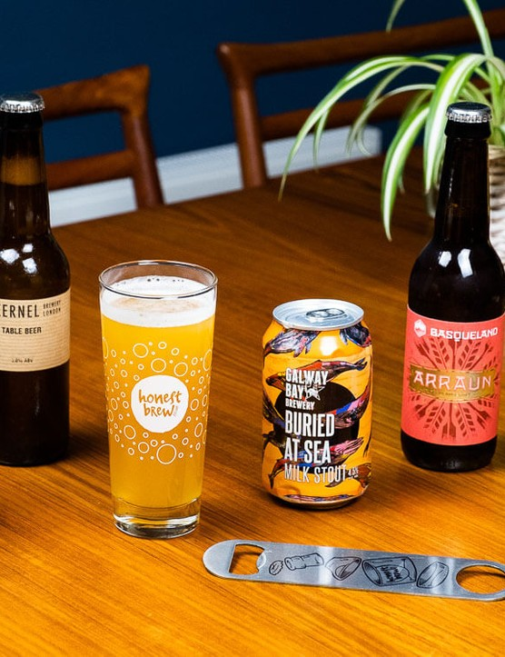 A selection of HonestBrew beers