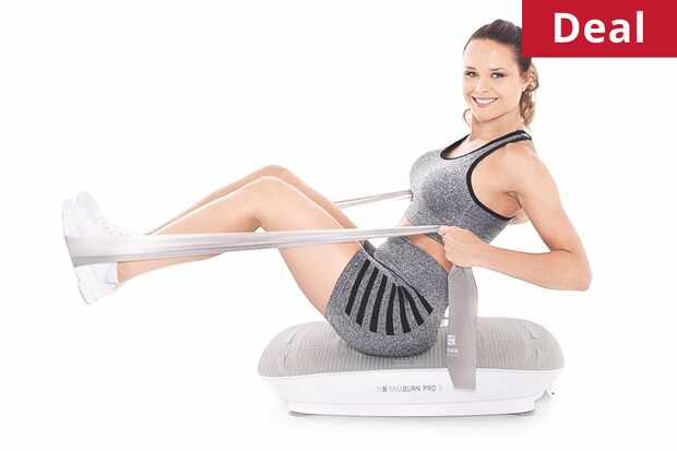 Maxburn Fitness Plate Pro II (female - standing position)