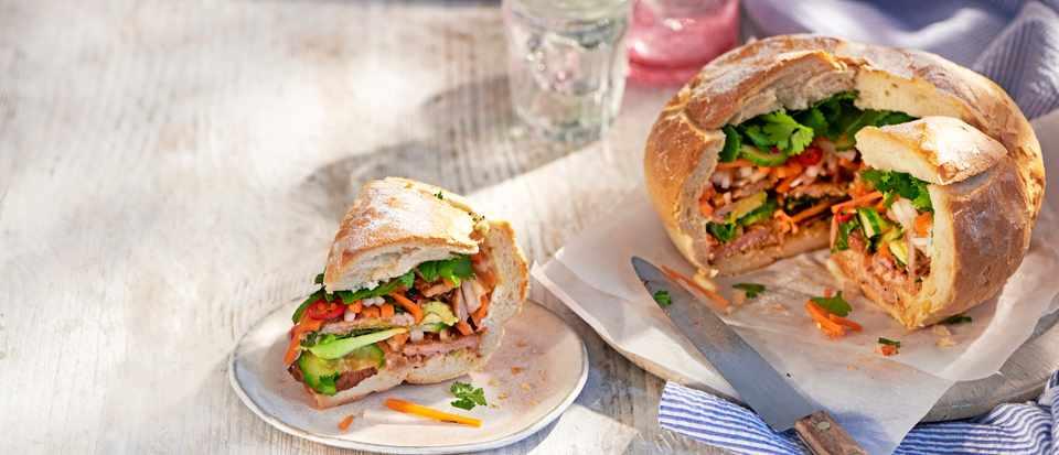 Picnic loaf bánh mì