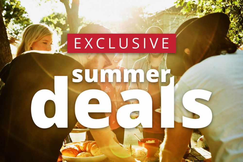 Exclusive Summer deals