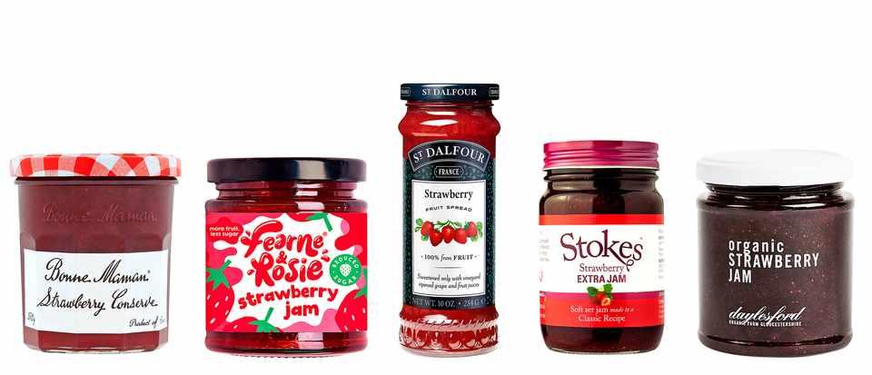 Best strawberry jam taste test