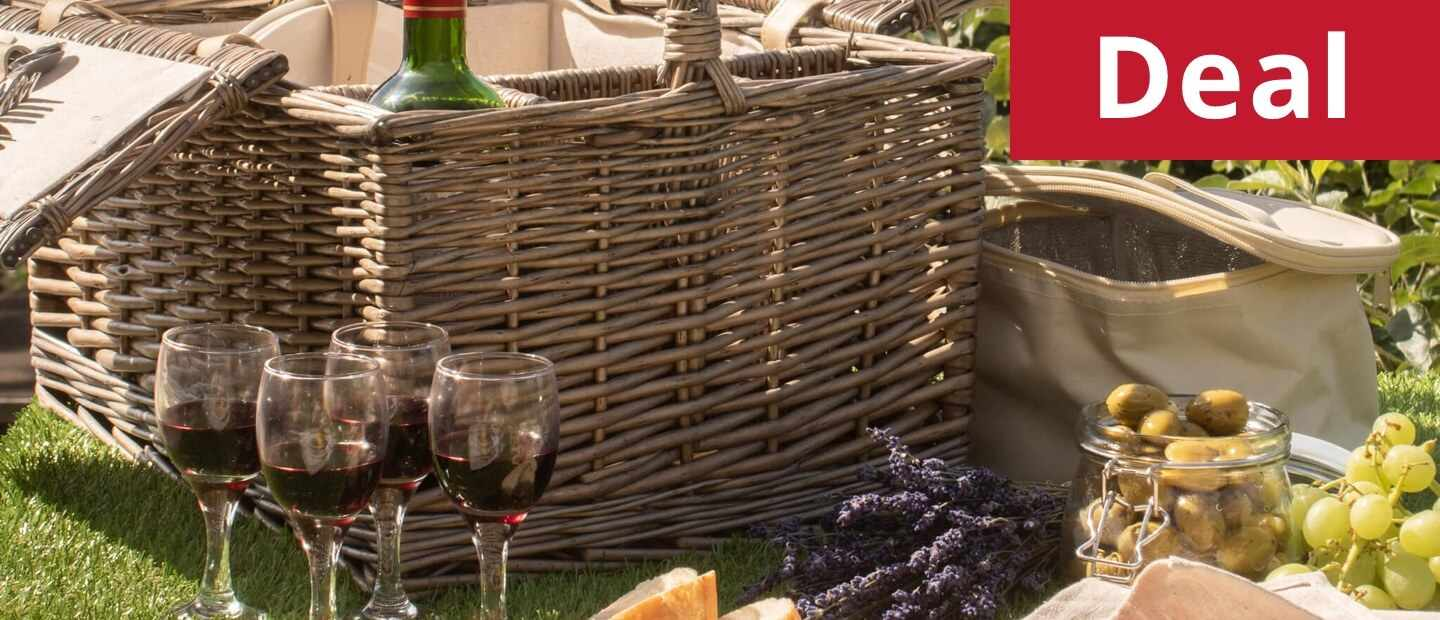 Ludlow Deluxe Fitted Picnic Hamper