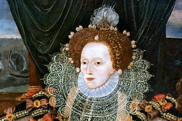 Elizabeth I, Queen of England and Ireland, c1588 © Getty