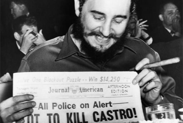 The 638 Attempts on Fidel Castro's Life © Wikimedia Commons