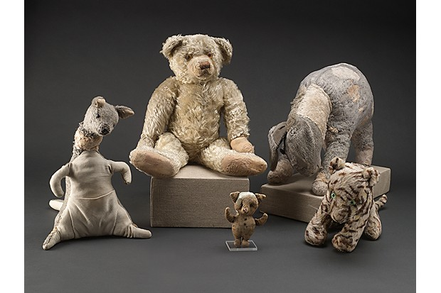 Kanga, Pooh, Piglet, Eeyore and Tigger © New York Public Library