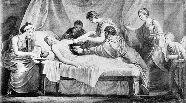 The practice of bloodletting can be traced back thousands of years