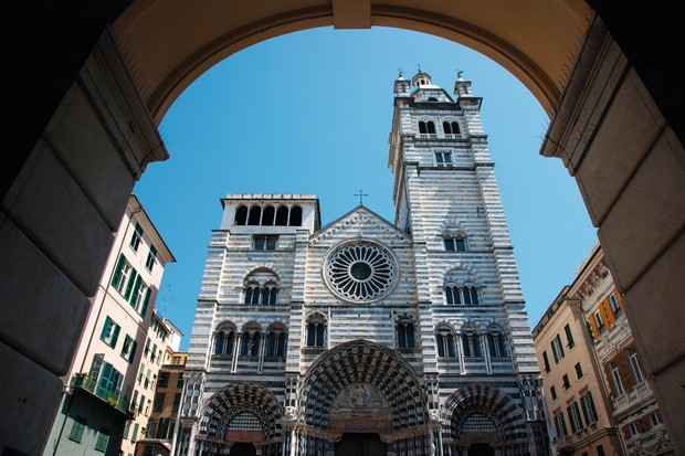 The Cathedral of Genoa, where a glassy Grail contender resides. © Alamy