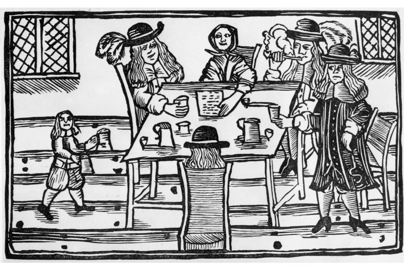 Have the British always been heavy drinkers? © Wikimedia Commons