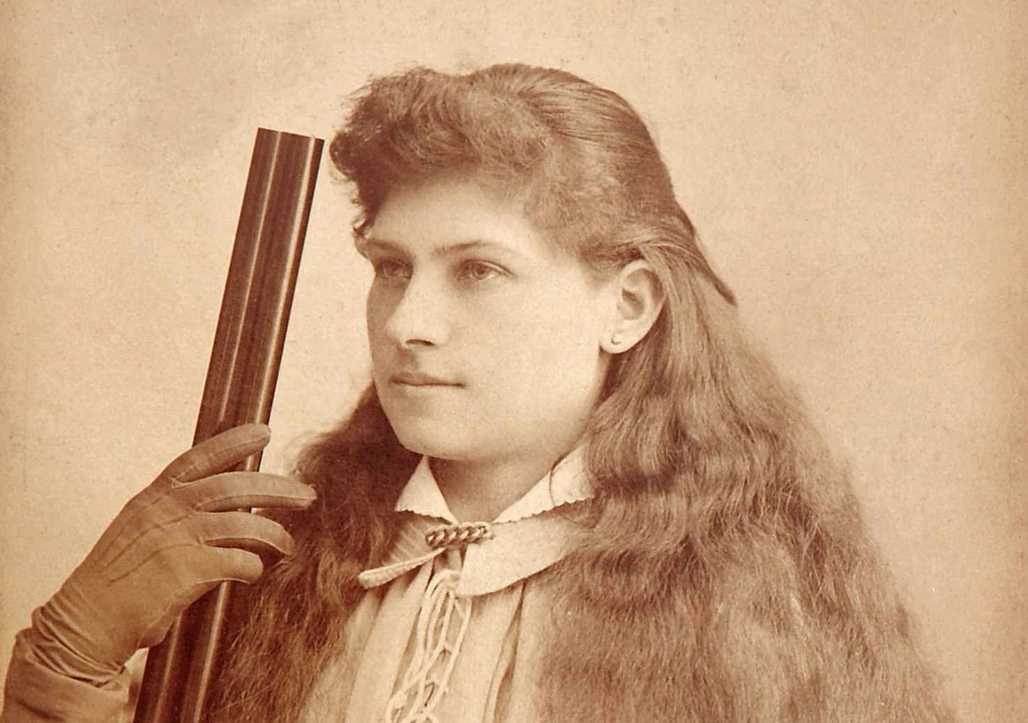 The incredible life of Annie Oakley © Bakers Art Gallery